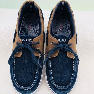 Nautical Boys 2 Tone Loafers